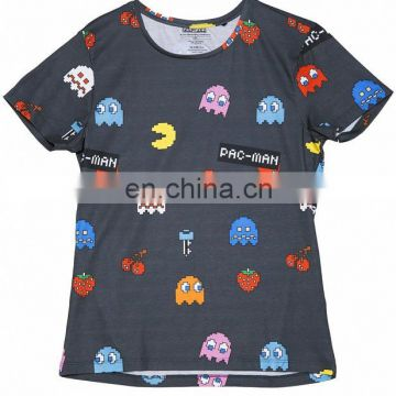 All over printed sublimation tshirt manufacturer
