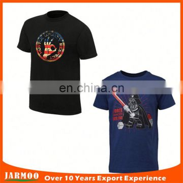 wholesale customized factory promotion 180gsm t-shirts