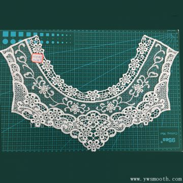 Fashion Cotton Necklace Embroidery Lace Collar Fabric Textile Garment Accessories