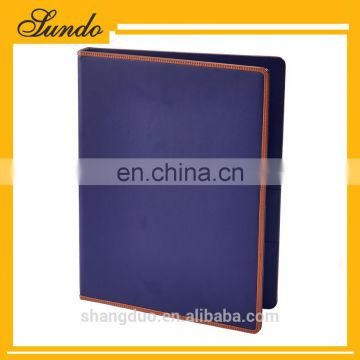 Hot Selling Quality Hotel Presidential Suite Leather Hotel Supplies set service directory menu card holder wordpad