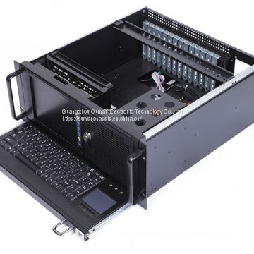 19 Inch All In One 4U Industrial Computer Workstation Chassis