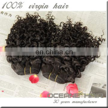 Raw unprocessed new style no chemical cheapest price wholesale supply black women 100% raw brazilian human hair