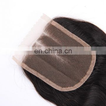 Top selling product cheap human hair Brazilian virgin hair bundles with lace closure