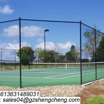 Alibaba for sale 6ft pvc coated decorative chain link fence for sale factory