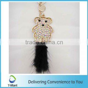Sweet Crystal Bear Pendant design for bags, clothings, belts and all decoration