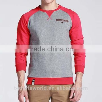 Men's Eco Fleece Colorblocked Crewneck Sweatshirt