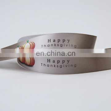 wholesale celebrate it ribbon for Thanksgiving Day