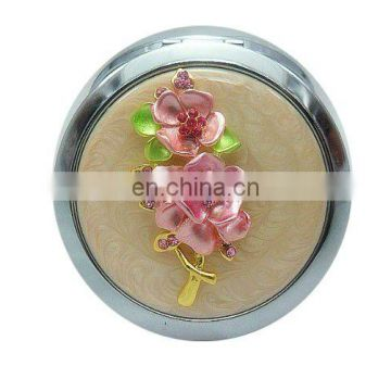 New Design Popular selling cosmetic mirror compact metal