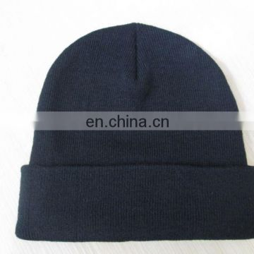 Factory Direct High Quality Custom beanie hat With Client's Brand On