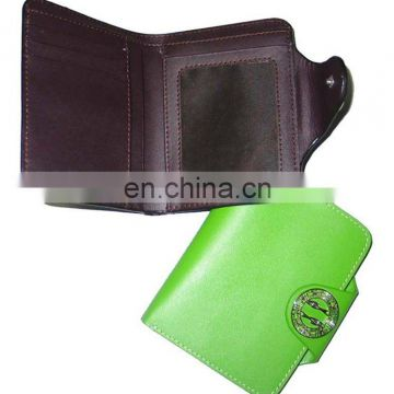 Colourful Customizable High Quality PU Leather Fancy Wallet