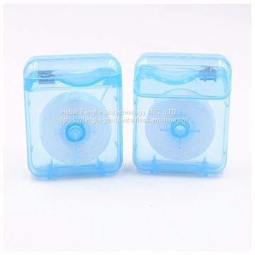 Manufacture square shape dental floss with low price