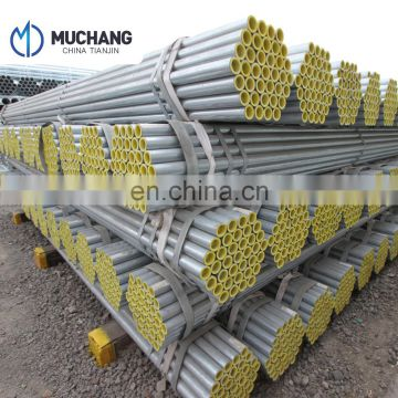 high quality steel 1/2 inch galvanized HDG steel pipe