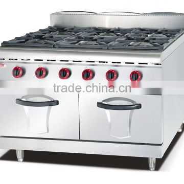 Commercial gas range,gas range with 4 burner oven,heavy duty gas range(ZQW-878)