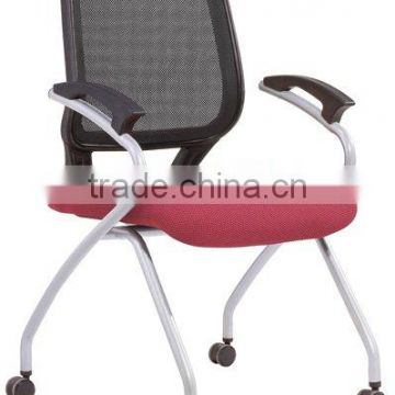 Designer easy chair with wheel 6102C