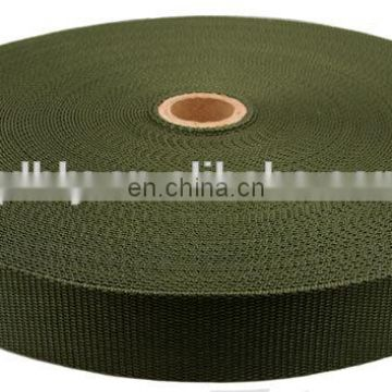 Multi-color Wholesale inelasticity high strength pp webbing