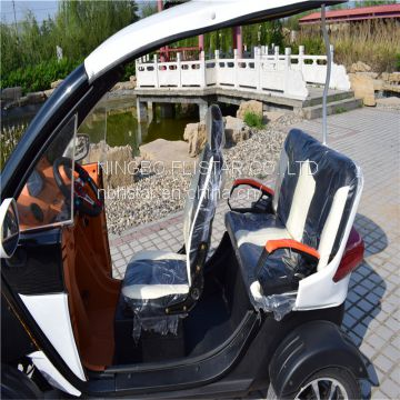 3 seats electric sightseeing vehicles for sale