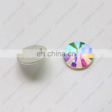 DZ-1041 flat back ab crystal for jewelry making