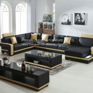Modern leather for Sofa set living room furniture