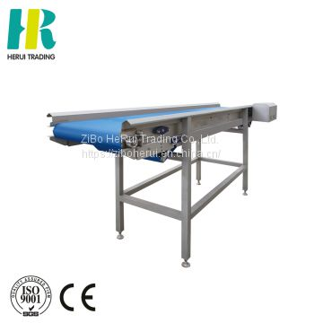 Leafy vegetable sorting machine vegetable select conveyor