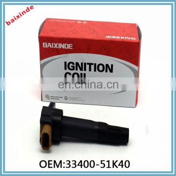 Baixinde Car Engine Auto Parts Ignition Coil 33400-51K40 pack For Suzuki SX4 2.0L-L4 2010-2013