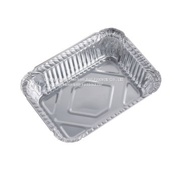 1.5lb loaf pan rectangle aluminum foil tin foil container with lid