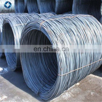 SAE1006 SAE1008 SAE1018 Mild steel hot rolled steel wire rod in coils