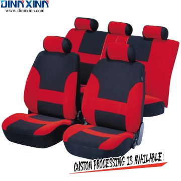 DinnXinn Ford 9 pcs full set velvet leather seat cover car manufacturer China
