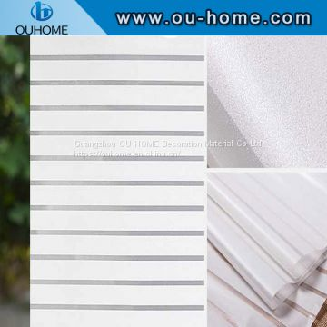 BT802 Office stripe decoration privacy window film