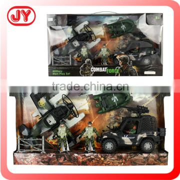 High quality plastic military toys play set for kids