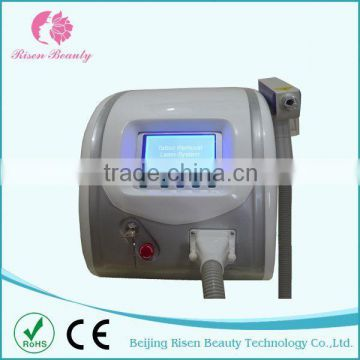 2015 Newest and Best 1064 nm 532nm nd yag laser for tatto removal (CE)
