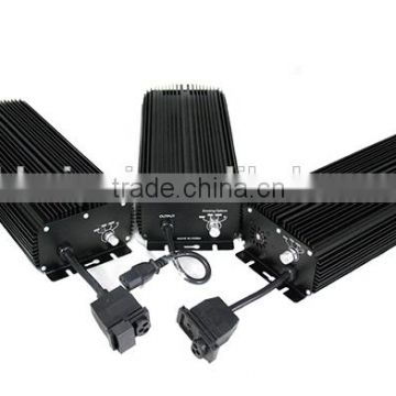 Hydroponics Dimmable Digital Plant lighting 400W electronic ballast with cooling fan inside