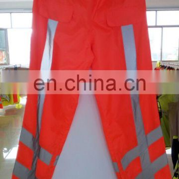 EN ISO20471 colorful waterproof reflective tape Rain pants