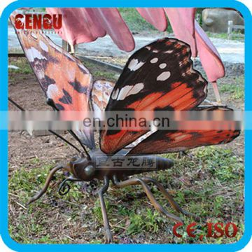 Outdoor theme park high quality animatronic insect