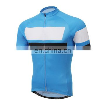 2015 Yihao Assurance Blue New Cycling Bike Short Sleeve Clothing Bicycle Sports Wear / Jersey / Bib Shorts Sets