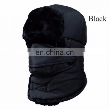 Outdoor sport breathable neck ski snowboard winter warm fleece hats