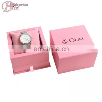 Cardboard Drawer Watch Box Package with Foam