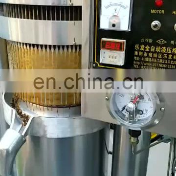 High quality oil press making black seed oil press machine