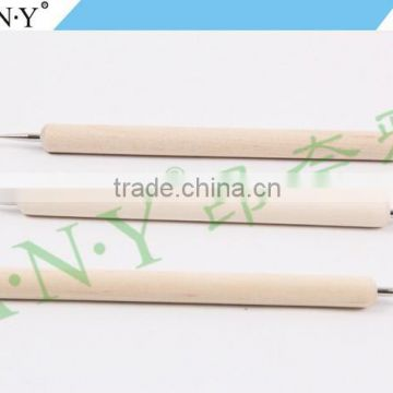 ANY Nail Art Beauty Care Dotting Design Cheap Wood Nail Dotting Tool 3PCS Set