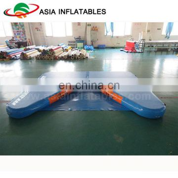 Durable Inflatable air tumble mat / Inflatable air dock for water recreation