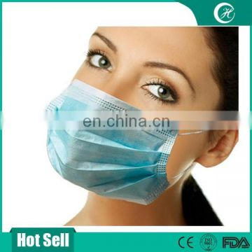 3-ply non woven face mask wholesale, ear-loop face mask