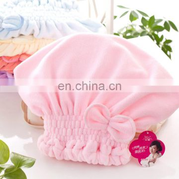 wholesale microfiber quick-dry bath towel with bowknot