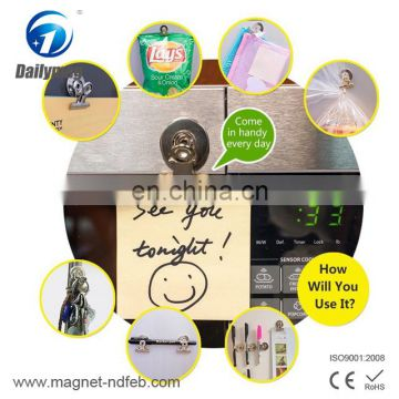 Magnet Fidge Clips Holder, Document Note Paper Clamps - 38mm - Perfect for Kitchen/ House/ Office Use