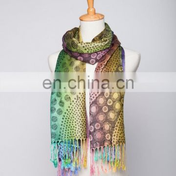 rose point jacquard pashmina shawl & scarf 70*180cm add 2*10cm fringe good quality