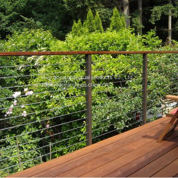 High Quality Customized Stainless Steel Cable Railing for Balcony