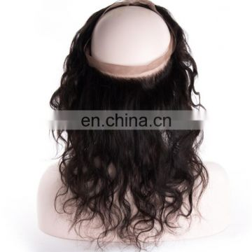 virgin hair 22.5*4*2 360 frontals 360 Lace Band Frontal