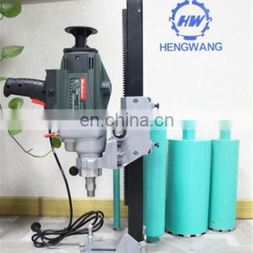 hand core drill concrete cutting equipment china borehole machines for sale
