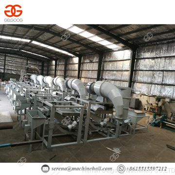 Hulling Peeling Machinery Buckwheat Sunflower Hemp Seed Shelling Machine