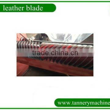 import steel band knife supplier used in leather fleshing machine