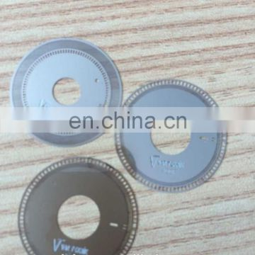 company logo can be add in optical rotary encoder disks