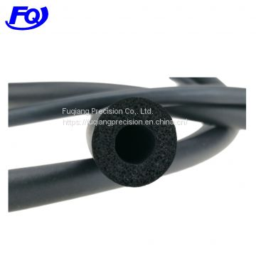 custom sponge extrusion rubber tubing